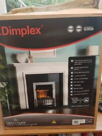 New electric fireplace still boxed