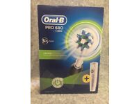 Oral -B PRO 680 Brand New Electric Toothbrush with Head & Travel Case - Postage Available