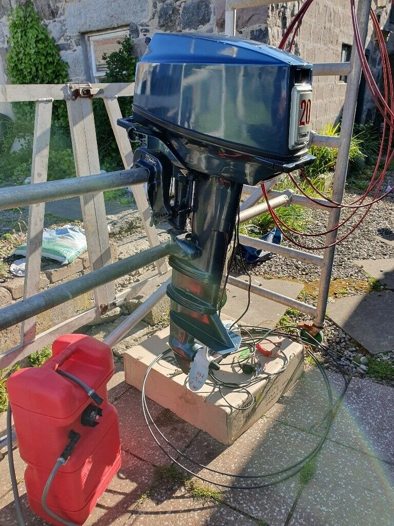 Yamaha 20hp outboard boat engine | in Fraserburgh, Aberdeenshire | Gumtree