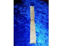 9ct gold Watch bracelet