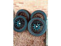 Vauxhall Astra J alloys alloy wheels mokka