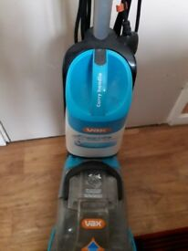 Vax upright carpet cleaner.