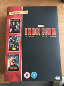 Iron man Trilogy box set - DVD