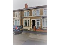 3 Bedroom House to rent - Cameron Street, Splott - Available March 2017 - Furnished - No admin fees.