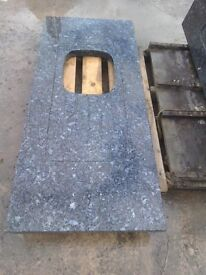 Granite Kitchen Worktop with sink cut out