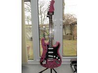 Jaxville Strat style electric guitar