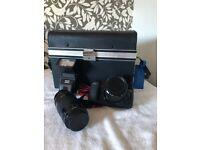 Canon EOS 10 35mm film camera & accesories