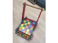 Baby walker/activity trolley