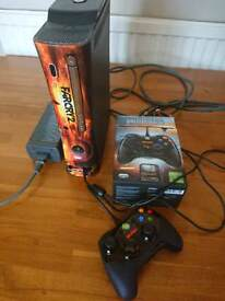 Xbox 360 FarCry2 limited edition console with Battlefield controller