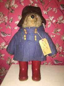 Vintage 1972 Gabrielle Designs Paddington Bear.