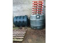 OIL TANKS FROM £35 FOR SALE