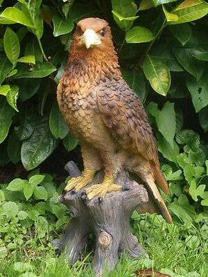 SteinADLER lebensecht  ADLER  Greifvogel NEUHEIT Figur SKULPTUR Wild Wald Deko