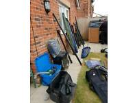 Collection of fishing gear