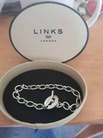 Links London bracelet and charms