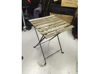 Outdoor foldable table + four chairs