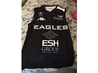 Newcastle Eagles signed Home Jersey