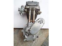 Used AJS 16M Motorbike Engine