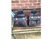Motorbike Panniers /saddle bags