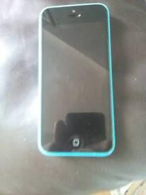 iPhone 5c 16GB blue unlocked.