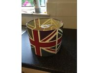 Union Jack light shade