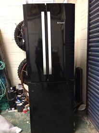 Black Hotpoint Fridge Freezer....REDUCED 14/03/17