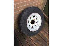 Landrover new wheel and tyre 205 16 £30