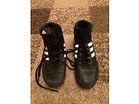 Adidas boxing boots size uk 4 1/2 vgc