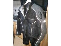 Hein gericke two piece goretex armoured riding suit