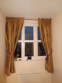 Excellent quality blackout lined curtains