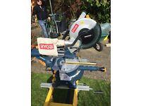 For sale Ryobi 2000W Slide Compound Mitre Saw
