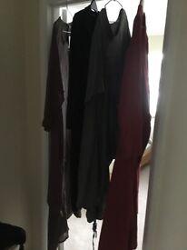 4 lagenlook style dresses. 2 New never worn.