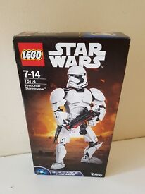Lego star wars buildable figures first order storm trooper