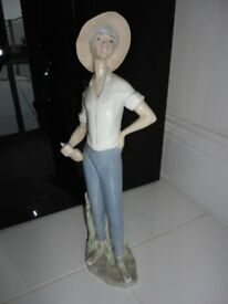 Girl Farmer Figurine