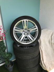 Original RS5 alloy wheels R19