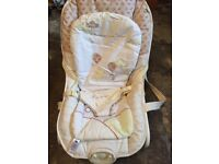 Mothercare baby vibrating/rocking chair