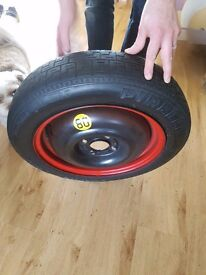 Ford focus space saver wheel excellent condition
