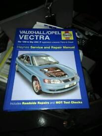 Haynes manual vectra