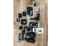2 Bronica Medium Format Cameras along with accessories