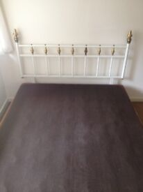 DOUBLE BEDSTEAD *FREE TO COLLECTOR*