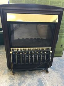 Electric Bar & Convector fire