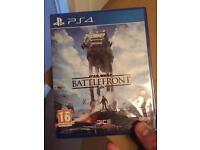 PS4 Star Wars battlefront game