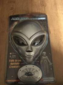 alien mask with voice changer