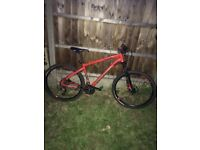 BTwin 27 gear mountain bike