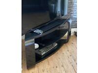 Black Corner TV Unit FOR SALE