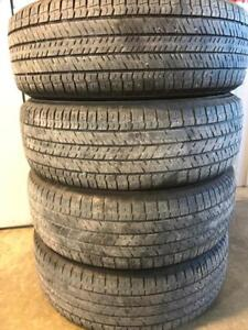 Set of 225/65R17 all seasons