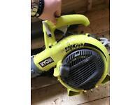Ryobi leaf blower/ vacuum petrol