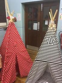 Children's beautiful handmade Teepees