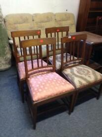 Chairs solid oak
