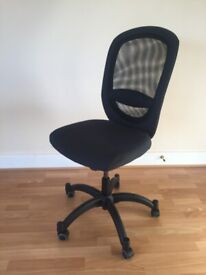 Office chair in good condition, black