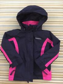 ***Girls 3 in 1 Waterproof/ Fleece Jacket***